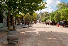historisk port för echuca Royaltyfri Fotografi