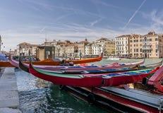 Historisk regatta, Venedig, Italien Arkivfoto