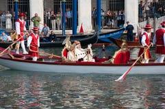historisk regatta venice Royaltyfria Foton
