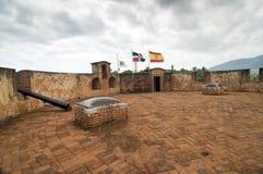 historisk republik för dominikansk fästning Royaltyfri Bild