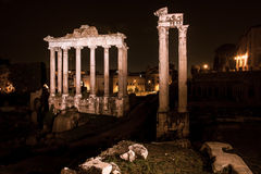 Historisk Rome arkitektur Arkivbild