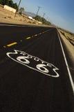 historisk route 66 Royaltyfri Fotografi