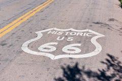 historisk route 66 Arkivbilder
