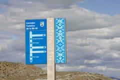Historisk rutt 40, Patagonia, Argenitina Arkivfoton