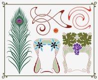 historisk samlingsdesign vektor illustrationer