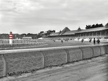 Historisk Saratoga racerbana royaltyfri foto