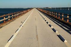 Historisk sju mil bro Arkivfoton