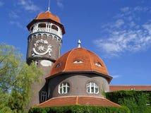 historisk slott Arkivbild
