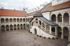 Historisk slott Royaltyfria Foton