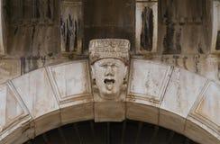 historisk slott _ Puglia italy arkivfoton