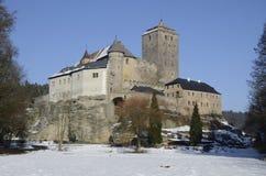 historisk slotttjeck Royaltyfri Foto