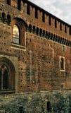 Historisk slottvägg royaltyfri bild