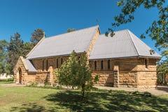 Historisk St James Anglican Church i Ladybrand Arkivbild