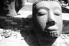 Historisk stad av Ayutthaya i Thailand Arkivfoton
