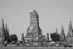 Historisk stad av Ayutthaya i Thailand Arkivbild