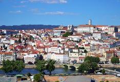 Historisk stad av Coimbra Arkivfoton