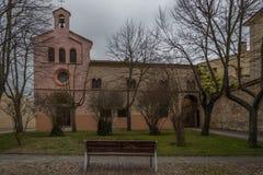 Historisk stad av mitten av Spanien Arkivbilder