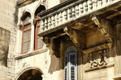 Historisk stad av splittring Arkivfoto
