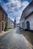 Historisk stad av taggen som är bekant för dess vita hus arkivfoton