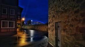 Historisk stad för Tyskland Royaltyfria Bilder