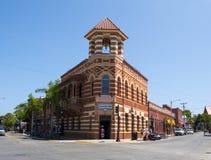 Historisk tegelstenbyggnad Royaltyfria Foton