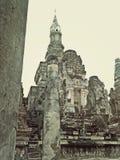 Historisk tempel i Thailand Royaltyfria Foton