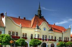 historisk town för korridor royaltyfri foto