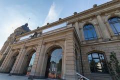 Historisk townhall wuppertal Tyskland Arkivfoto