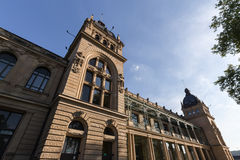 Historisk townhall wuppertal Tyskland Fotografering för Bildbyråer