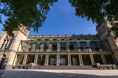 Historisk townhall wuppertal Tyskland Royaltyfri Fotografi