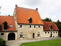 Historisk tysk byggnad Royaltyfri Foto