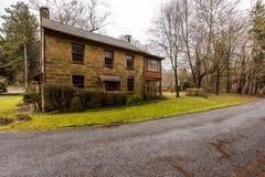 Historisk uppehåll - Fredericktown, Ohio Royaltyfri Foto