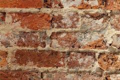 historisk vägg för tegelsten arkivbild