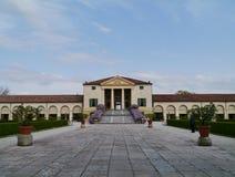 Historisk villa i Italien Royaltyfria Foton