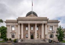 Historisk Washoe County domstolsbyggnad i Reno Nevada Fotografering för Bildbyråer