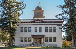 Historisk White Pine County domstolsbyggnad Royaltyfria Foton