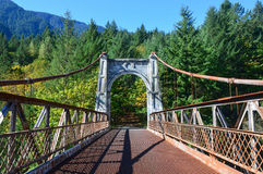 Historiska Alexandra Bridge Arkivfoto