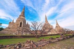 Historiska Ayutthaya parkerar Royaltyfria Bilder