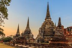Historiska Ayutthaya parkerar, Phra Nakhon si Ayutthaya, Ayutthaya, Arkivbild