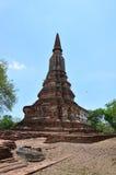 Historiska Ayutthaya parkerar Thailand Arkivfoton