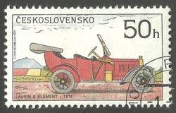 Historiska bilar, klassiska bilar Royaltyfri Bild