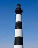 Historiska Bodie Island Lighthouse på uddeHatteras den nationella kusten på de yttre bankerna av North Carolina Arkivfoto