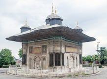Historiska byggande Istanbul Turkiet Royaltyfri Foto