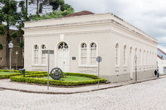 Historiska byggande Lapa Parana royaltyfri fotografi