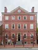 Historiska byggande Philadelphia Fotografering för Bildbyråer