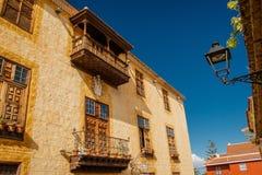 Historiska byggnaden i La Orotava, Tenerife Royaltyfri Fotografi