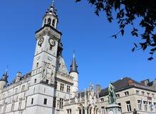 Historiska byggnader Aalst, Belgien Royaltyfri Bild