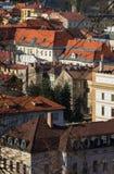 Historiska byggnader av Banska Bystrica Royaltyfria Foton