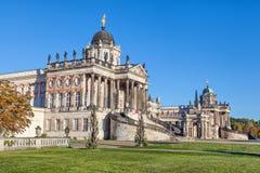 Historiska byggnader av universitetet av Potsdam Royaltyfri Foto