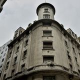 Historiska byggnader i Argentina Buenos Aires federal huvudstad royaltyfria bilder